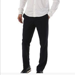 Versace collection men's pants black